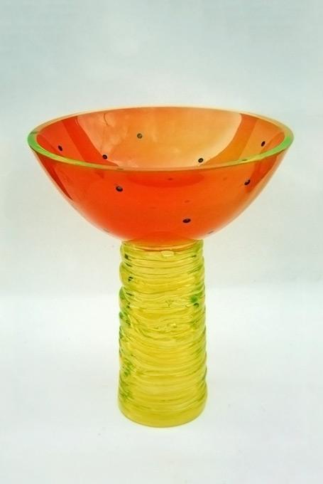 coupe en verre à l'urane