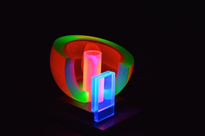 Musée du verre de Carmaux. Fluofruit - Yves Braun